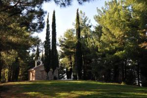 Κήπος έξω από το Aphrodite's Inn Kalavrita