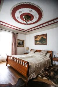 Postel nebo postele na pokoji v ubytování Pension Cortes