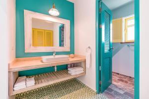 Vannas istaba naktsmītnē Boardwalk Boutique Hotel Aruba