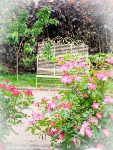 Ein Garten an der Unterkunft Isabelle's Rosegarden