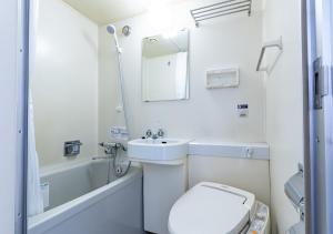 A bathroom at APA Hotel Sapporo Odori-koen