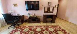 A television and/or entertainment centre at Tarasovo House