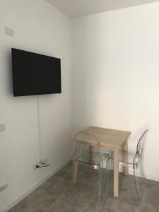 A television and/or entertainment center at CENTRALE