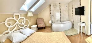 Ванная комната в Гостиница Геркулес