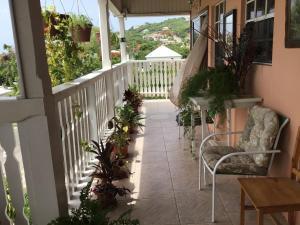 A balcony or terrace at Antigua Seaview