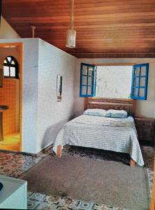 A bed or beds in a room at Living Saracura