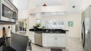 Küche/Küchenzeile in der Unterkunft Villa Surfside
