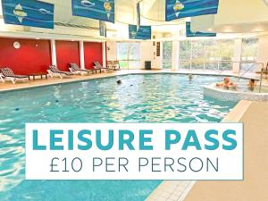 The swimming pool at or near Bromsgrove Hotel and Spa