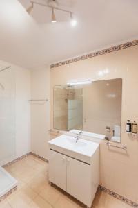 Ванная комната в Pergola Boutique Hotel