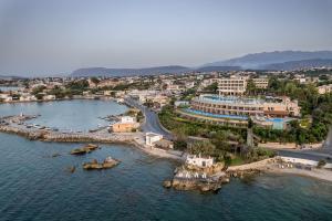 Widok z lotu ptaka na obiekt Leptos Panorama Hotel