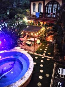 A view of the pool at Cool Vibes Beach Hostel or nearby