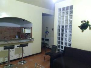 A cozinha ou cozinha compacta de Apartamento Piccola Marina