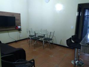 Uma área de estar em Apartamento Piccola Marina