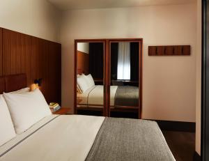 Cama o camas de una habitación en The Moore