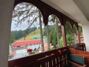 Балкон или тераса в Хотел Алпин