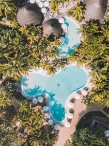 Een luchtfoto van Canonnier Beachcomber Golf Resort & Spa