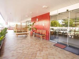 Um restaurante ou outro lugar para comer em ibis Teresina