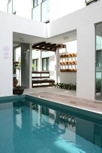 The swimming pool at or near Hotel Porto Maceió
