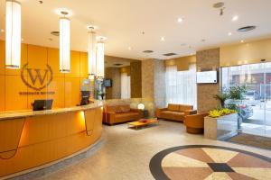 The lobby or reception area at Windsor Astúrias
