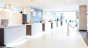 The lobby or reception area at Novotel London West