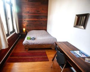 Un ou plusieurs lits dans un hébergement de l'établissement MaPatagonia Hostel