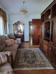 A seating area at Casa da Sogra