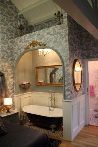 A bathroom at Casa de Carmen