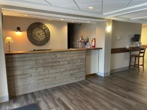 The lobby or reception area at Pilgrim Inn