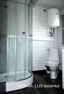 Łazienka w obiekcie Kormoran Niesulice Ośrodek Wypoczynkowy - realizujemy bon turystyczny
