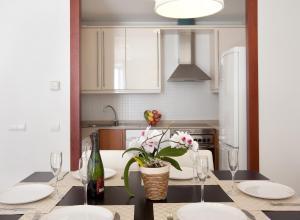 A kitchen or kitchenette at Blaumar