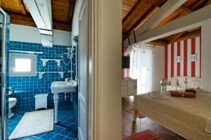 Area soggiorno di Domus Corallia-Luxury Rooms