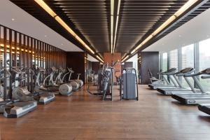 The fitness center and/or fitness facilities at The Puli Hotel And Spa