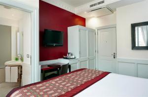 TV/Unterhaltungsangebot in der Unterkunft Hotel Indigo Rome - St. George, an IHG Hotel