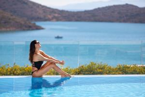 The swimming pool at or near Royal Marmin Bay Boutique & Art Hotel