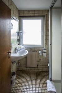 Ein Badezimmer in der Unterkunft Avenue Altenfurt