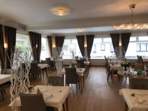 Restaurant ou autre lieu de restauration dans l'établissement Hotel Atlanta Knokke