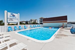 The swimming pool at or near Dolphin Oceanfront Motel - Nags Head