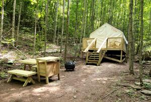 Tentrr Signature Site - Happy Hollow Hideaway Glade site