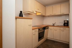 Küche/Küchenzeile in der Unterkunft Zappartements