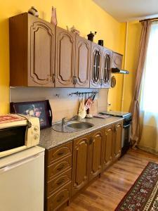 Кухня или мини-кухня в Апартаменты в историческом центре