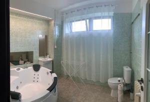 A bathroom at Holiday Park Vrchlabí - Liščí farma