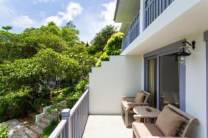A balcony or terrace at Rocky's Boutique Resort - SHA Plus
