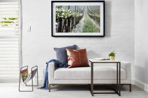 A seating area at Spicers Guesthouse