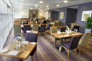 A restaurant or other place to eat at Ramada Plaza Wrexham