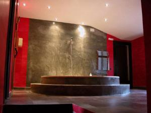 The lobby or reception area at Masia Vista Hermosa