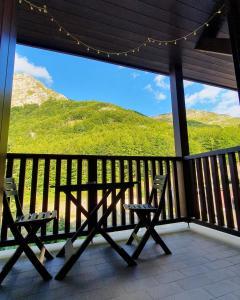 Balcone o terrazza di La terrazza sulle piste - Val di Luce