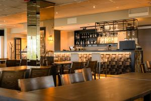 The lounge or bar area at Lapland Hotels Sky Ounasvaara