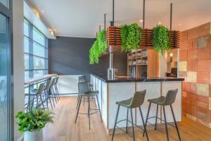 The lounge or bar area at Hotel Münster Kongresscenter affiliated by Meliá