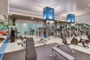 The fitness center and/or fitness facilities at Delano Las Vegas at Mandalay Bay