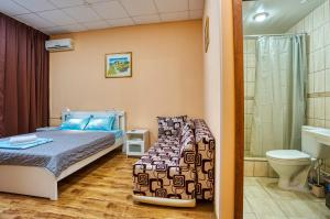 A bed or beds in a room at Hotel Ladomir in Fili